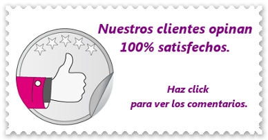 Haz click y mira las opiniones de nuestros clientes