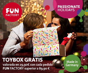 Promoción Passionate Holidays Fun Factory