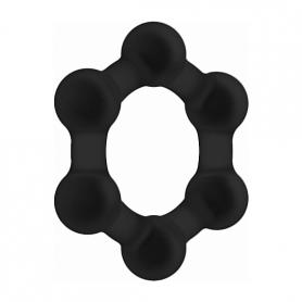 NO. 82 WEIGHTED COCK RING NEGRO - Imagen 1