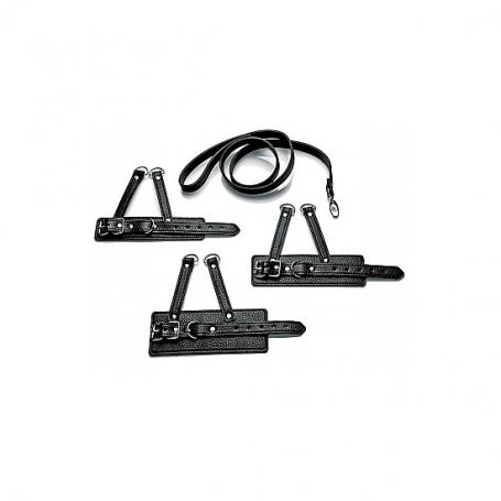 3 PIECE BALL STRETCHER TRAINING SET NEGRO - Imagen 1
