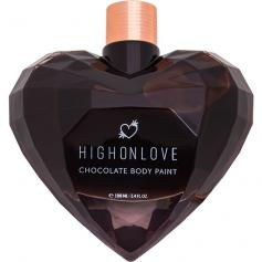 HIGH ON LOVE - PINTURA CORPORAL DE CHOCOLATE - 100 ML - Imagen 1