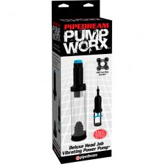 PUMP WORX DELUXE HEAD JOB VIBRATING POWER PUMP - Imagen 1
