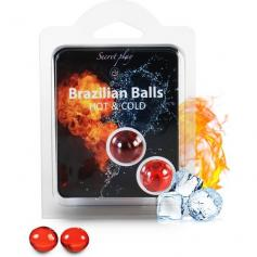 SECRET PLAY SET 2 BRAZILIAN BALLS FRÍO/CALOR - Imagen 1