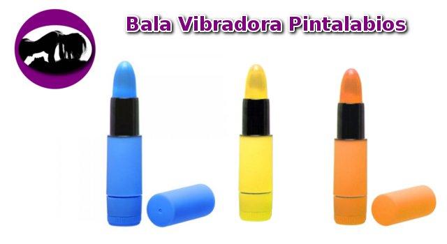 Bala Vibradora pintalabios