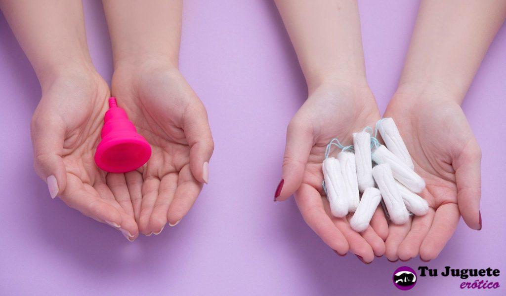 Ventajas de las copas menstruales vs. los tampones