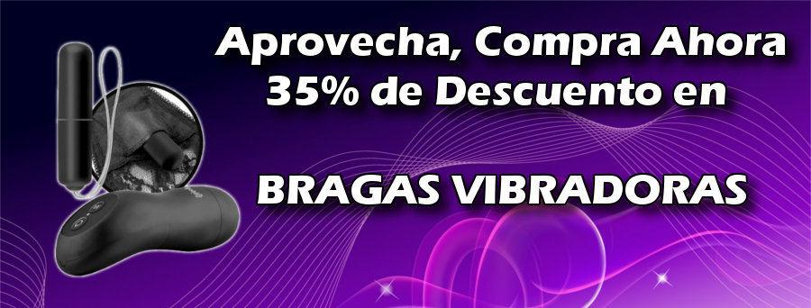 Oferta 35% de descuento en Bragas Vibradoras.