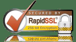 Certificado de seguridad de 256-bit